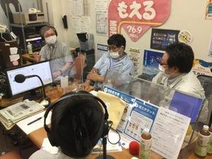 9月9日スタジオの様子の写真