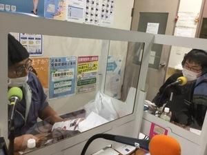 2月10日放送スタジオの様子の写真