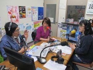 2月18日放送時スタジオの様子の写真