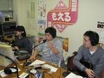 2010年新春特別号放送の様子