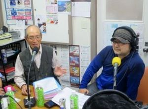 深川の平野武行さん、歌い手の佐藤オズマさんの写真