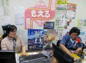12月11日放送時スタジオの写真